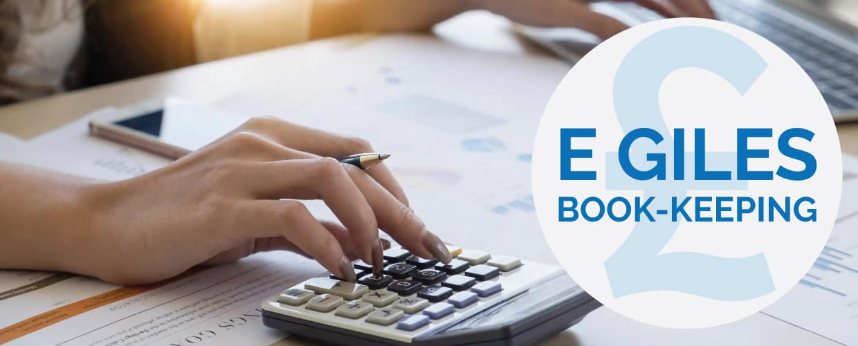 E Giles Book Keeping Header